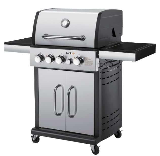 Cook>it 4+1 brændere