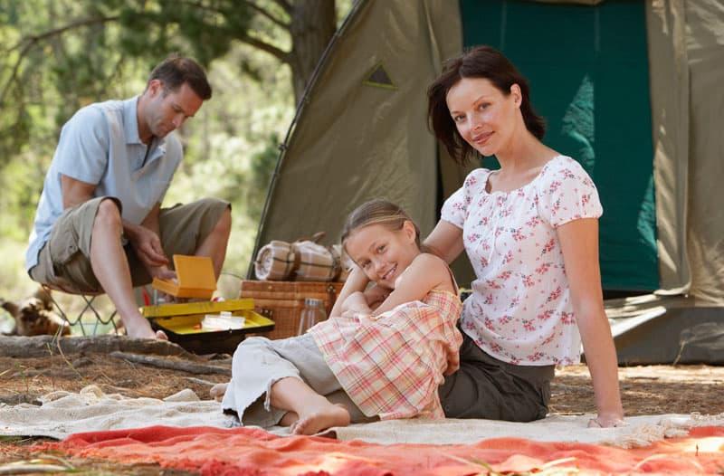 Du må gerne grille på campingpladser