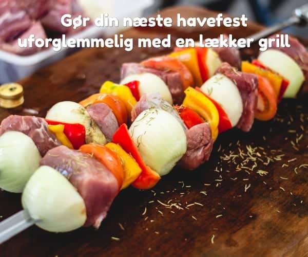 Gør din næste havefest uforglemmelig med en lækker grill